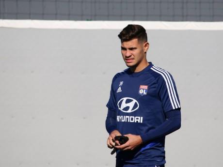 Bruno Guimaraes à l'entraînement - LyonMag