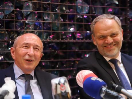 Gérard Collomb et François-Noël Buffet- LyonMag
