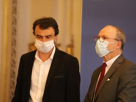 Grégory Doucet et Pascal Mailhos - LyonMag