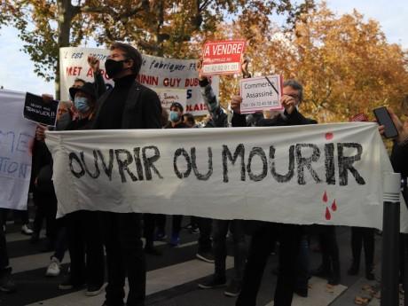 Les commerçants lyonnais ont manifesté durant tout le confinement - LyonMag