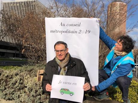 David Kimelfeld a covoituré, pour le plus grand bonheur des militants - LyonMag