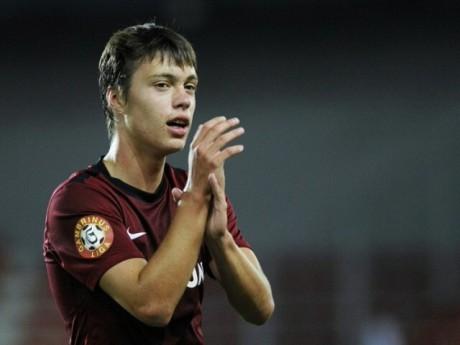 A 20 ans, Vaclav Kadlec est présenté comme le plus grand espoir du football tchèque - DR