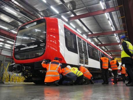Nouvelle rame du métro B, sans conducteur et climatisée - dr Sytra