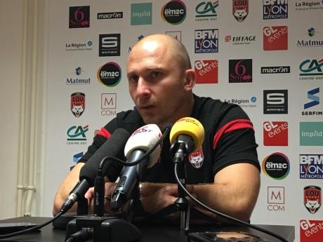 Pierre Mignoni à l'issue de la rencontre contre le Stade Rochelais- LyonMag