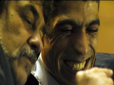 Abdelhafid Metalsi (ici aux côtés d'Olivier Marchal) jouera le premier rôle - DR