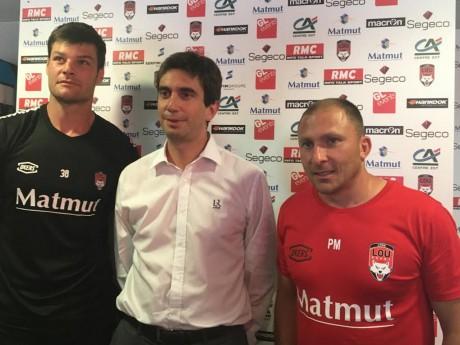 Julien Puricelli, Yann Roubert et Pierre Mignoni - LyonMag