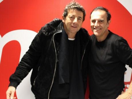 Patrick Bruel, ici avec Thierry Beccaro - LyonMag