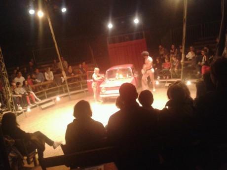 Le chapiteau peut accueillir 350 personnes - Lyonmag