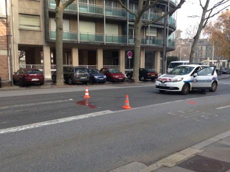 L'accident s'est produit sur le boulevard des Belges - Lyonmag.com
