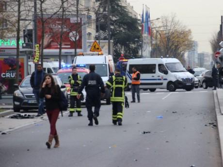 Les lieux de l'accident - LyonMag