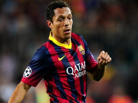 Adriano a disputé 179 matchs avec le Barca - DR