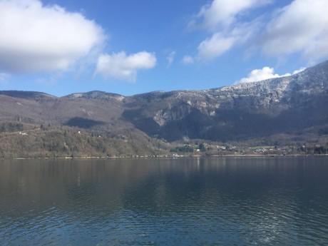Le lac d'Aiguebelette - Lyonmag.com