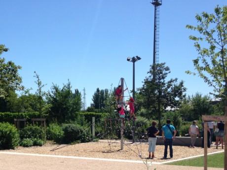 Aire de jeux au parc de Gerland - LyonMag