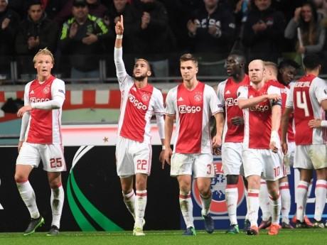 L'Ajax Amsterdam contre Lyon en demi-finales de la Ligue Europa - DR