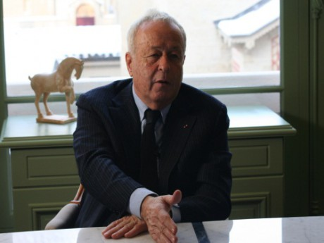 Alain Mérieux - Photo dr