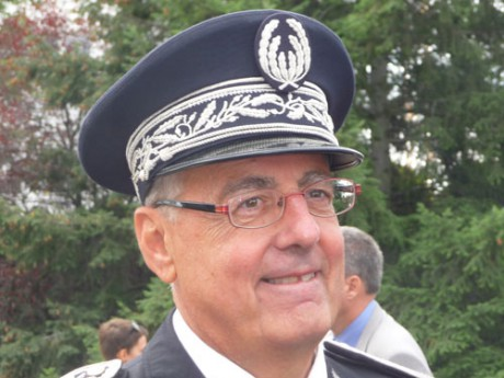 Albert Doutre, le directeur de la Direction Départementale de la Sécurité Publique du Rhône - Photo Lyonmag.com