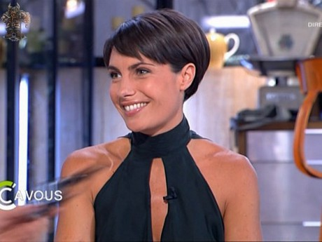 Alessandra Sublet - Photo DR - C à vous - France 5