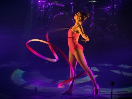 Aline Sepret était une danseuse professionnelle - DR