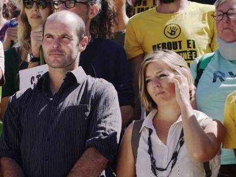 Les deux membres d'Alternatiba jugés à Lyon - DR