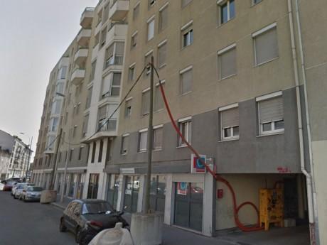 C'est dans cette rue que les pompiers sont mobilisés - DR Google
