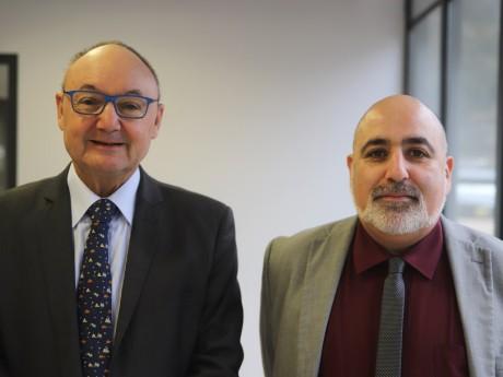 Gérard Angel et Karim Aou - LyonMag