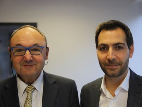 Gérard Angel et Marc Atallah - LyonMag