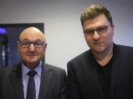 Gérard Angel et Elliott Aubin - LyonMag