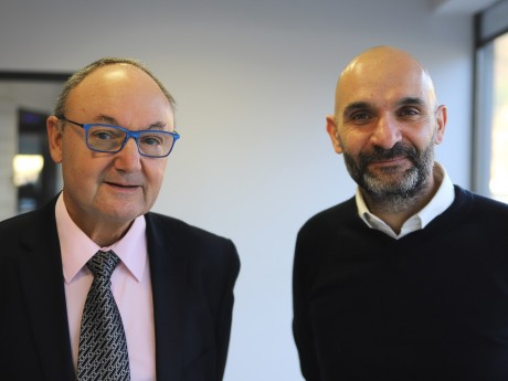 Gérard Angel et Gérald Avakian - LyonMag