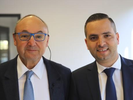 Gérard Angel et Issam Benzeghiba - LyonMag