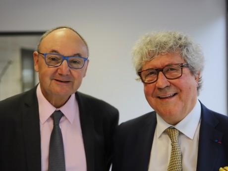 Gérard Angel et Roland Bernard - LyonMag