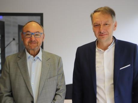 Gérard Angel et Bruno Bernard - LyonMag.com