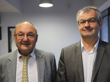 Gérard Angel et Stéphane Bertin - LyonMag