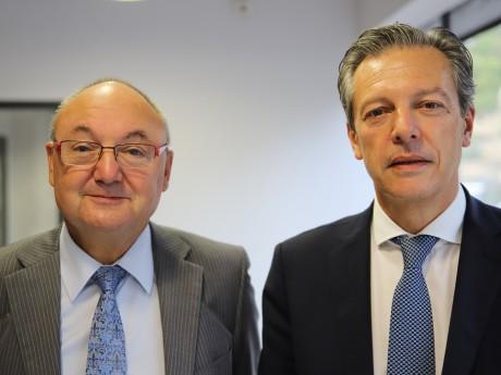 Gérard Angel et Pascal Blache - LyonMag