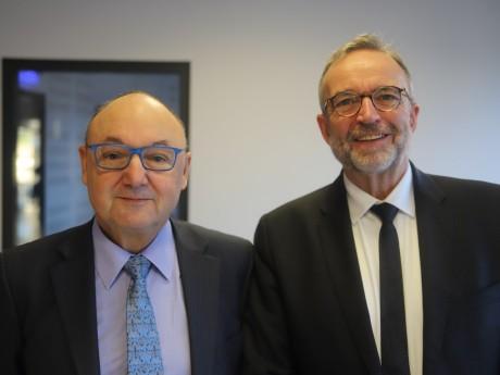 Gérard Angel et Etienne Blanc - LyonMag