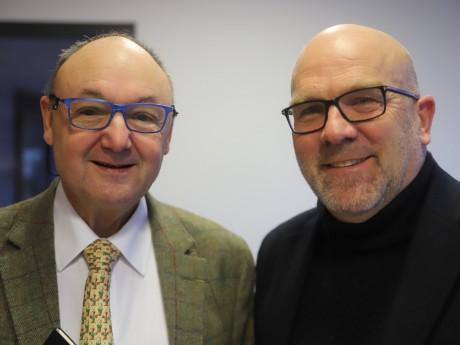 Gérard Angel et Bruno Bonnell - LyonMag
