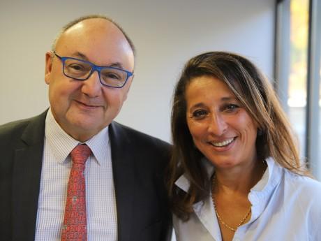 Gérard Angel et Farida Boudaoud - LyonMag