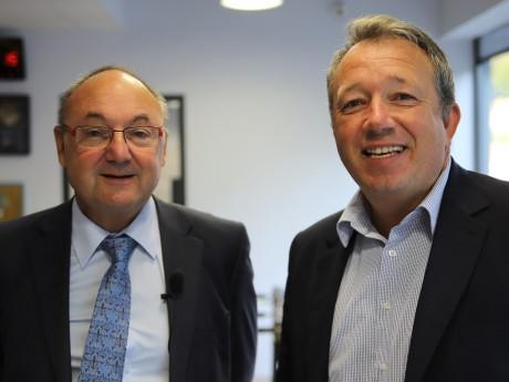 Gérard Angel et Christophe Boudot - LyonMag