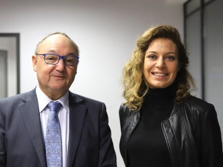 Gérard Angel et Blandine Brocard - LyonMag
