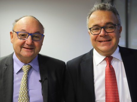 Gérard Angel et Denis Broliquier - LyonMag