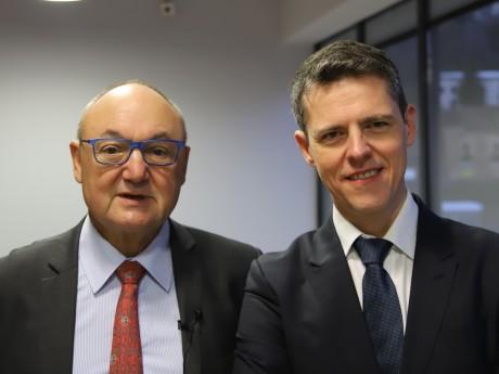Gérard Angel et Jérôme Chabannes - LyonMag