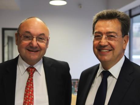 Gérard Angel et Philippe Cochet - LyonMag