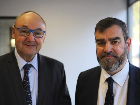 Gérard Angel et Guy Corazzol - LyonMag