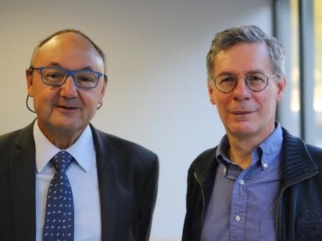Gérard Angel et Bernard Croisile - LyonMag