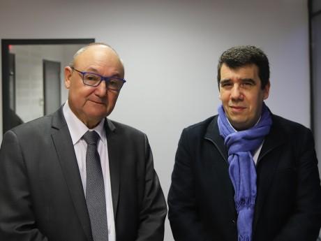 Gérard Angel et Yann Crombecque - LyonMag