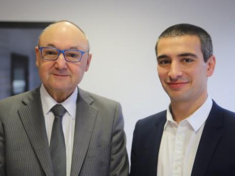 Gérard Angel et Yann Cucherat - LyonMag
