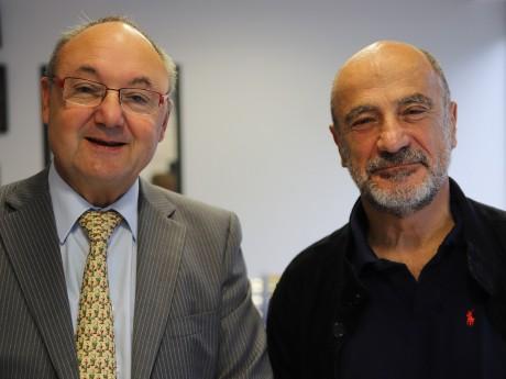 Gérard Angel et Jean-Michel Daclin - LyonMag