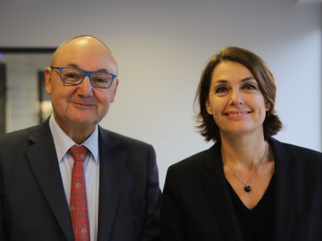 Gérard Angel et Karine Dognin-Sauze - LyonMag