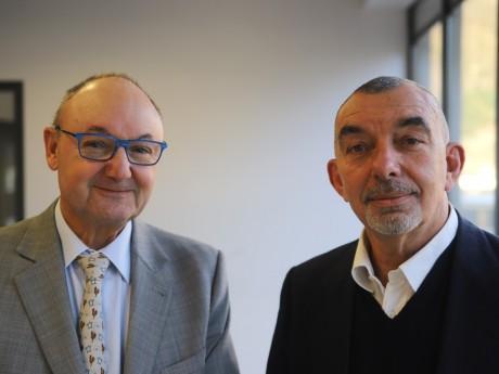 Gérard Angel et Frédéric Doyez - LyonMag