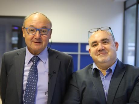 Gérard Angel et André Faucon - LyonMag