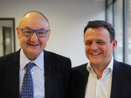 Gérard Angel et Laurent Fiard - LyonMag